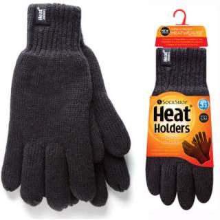 Heat Holders Men sormikkaat musta S/M