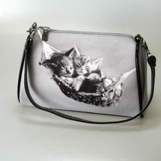 Kissa -käsilaukku*