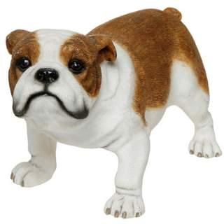 Englanninbulldoggi-patsas