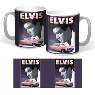 Nostalgiamuki Elvis ja Cadillac