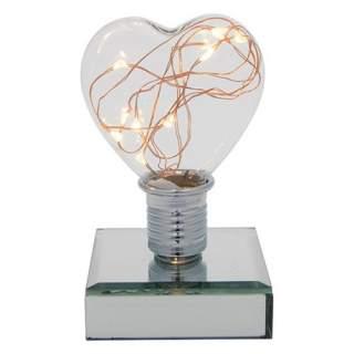 Sydänlamppu LED-valolla