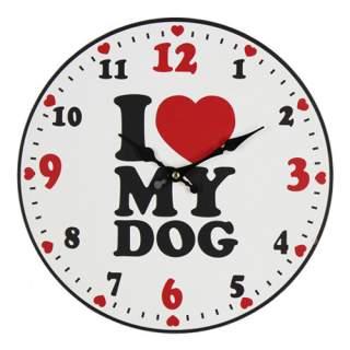 Seinäkello - I Love My Dog