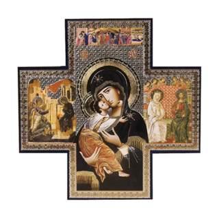 Ikoni -risti Pyhä Äiti
