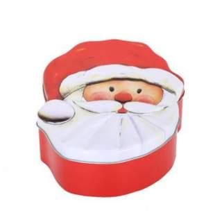 Joulupukki -peltirasia*