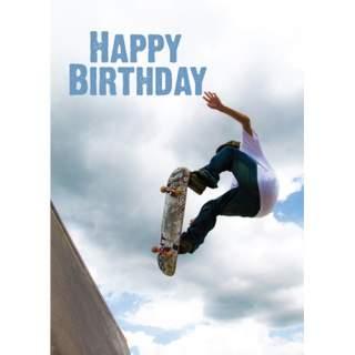 Happy Birthday -kortti skeitti