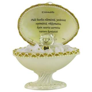 Lasinalle ja Fabergé-muna