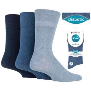 Diabetes-sukka 39-45 värilliset 3-pakkaus