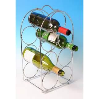 Viinipulloteline 7-pulloa kromattu*