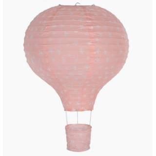 Kuumailmapallo -lampunvarjostin pinkki