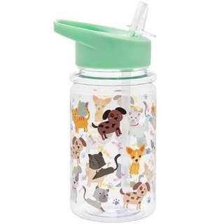 Lasten astiasto Kissat ja koirat - Juomapullo