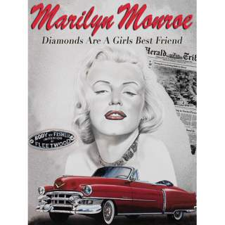 Marilyn Diamonds Are… -peltikyltti 30x40 cm