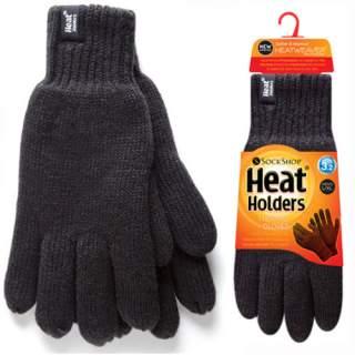 Heat Holders Men sormikkaat musta L/XL