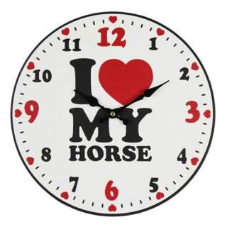 Seinäkello - I Love My Horse