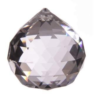 Kristallipallo-riipus 4 cm